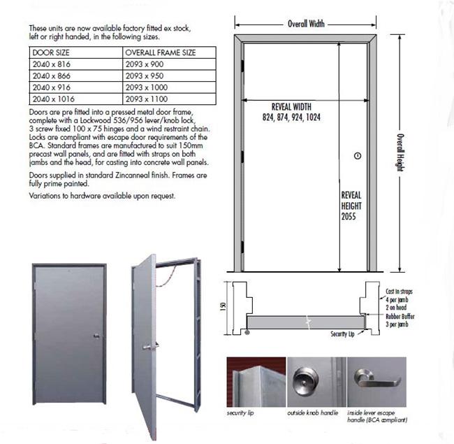 Factory Escape Fire Doors